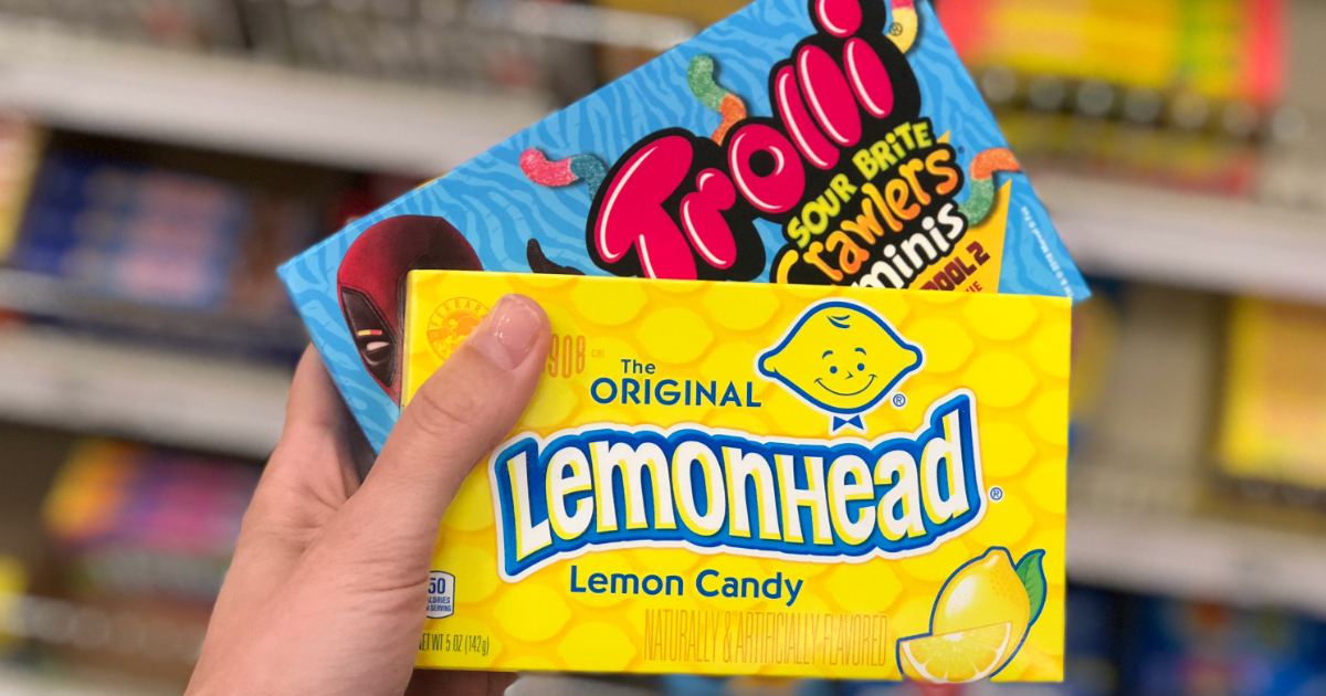 ferrara candy class action settlement – lemon heads and trolli candy in boxes