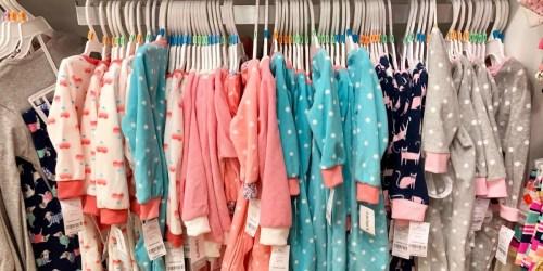 Free Shipping On Any Carter's Or OshKosh B'gosh Order = Sleep & Play Pajamas Only $3.99 Shipped