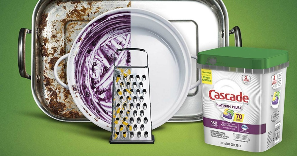 Cascade Platinum Plus by dirty dishes