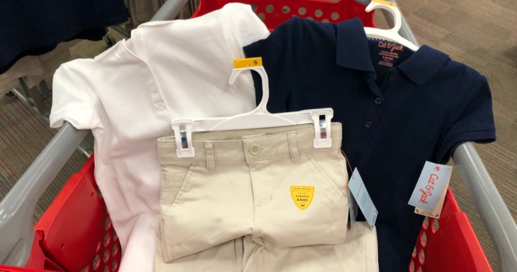 2321faba7 Cat & Jack School Uniforms Starting at $5 at Target (Online & In-Store)