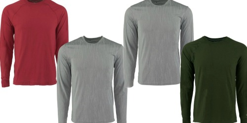 Champion Men's Long Sleeve Shirts 2-Pack Only $10 Shipped (Just $5 Each)