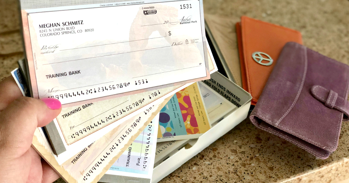 Score a great deal on personalized checks from Checks Unlimited!