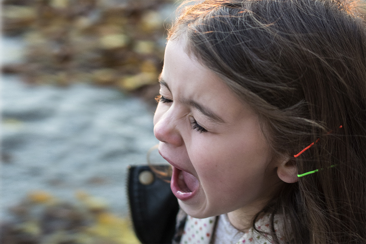 raising kids to give back in an entitled world — child screaming
