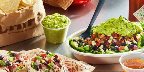 Free Guacamole for Chipotle Rewards Members