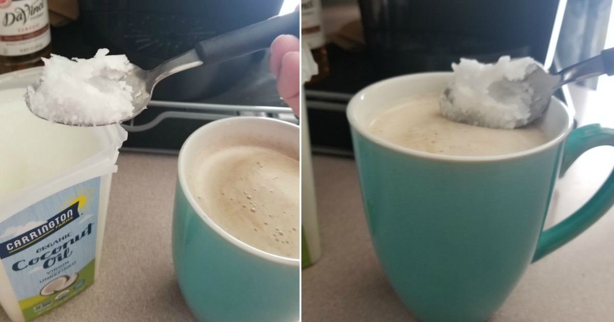 uses for carrington farms coconut oil abound! Coconut oil in coffee