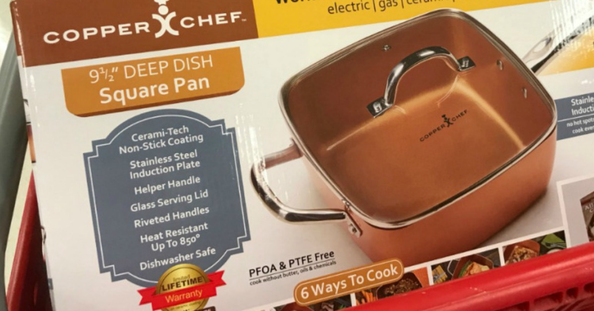 Copper Chef 5 Piece Cooking Set Only 23 99 Shipped