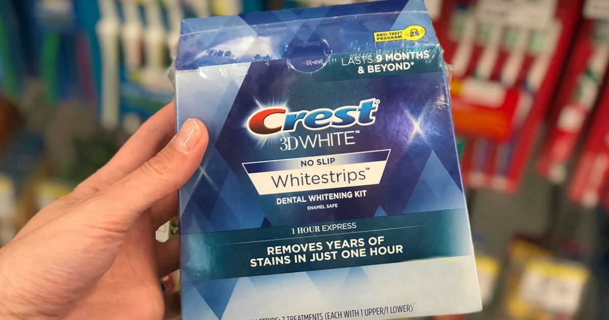 TWO Crest 3D Whitestrips Packs Just $44 88 Shipped at