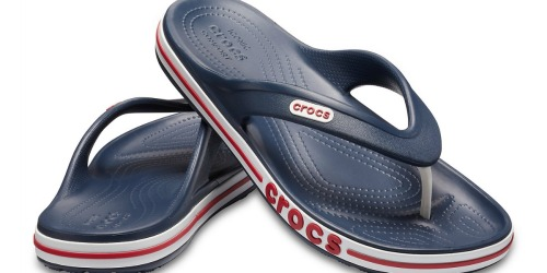 Crocs Men's & Women's Bayaband Flips Just $14.87