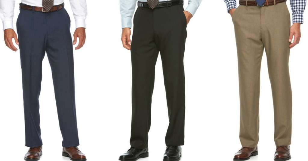 96cba85f Croft & Barrow Men's Dress Pants as Low as $6.48 + Free Shipping for Kohl's  Cardholders