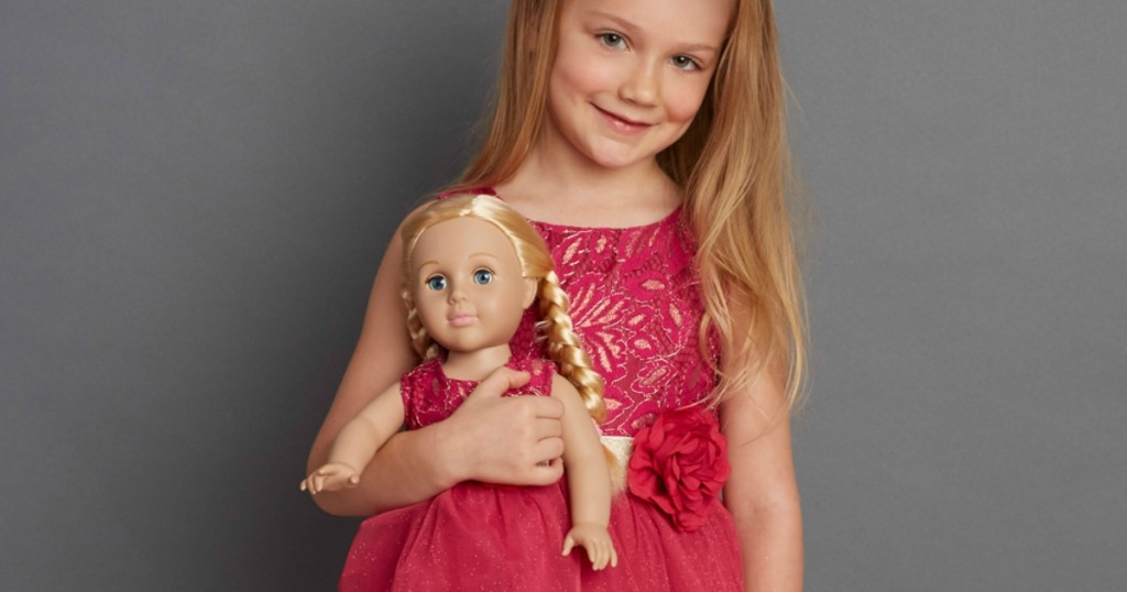 d5ded95334 Up to 80% Off Dollie & Me Matching Girl & Doll Outfits on Zulily (Fits  American Girl Dolls)