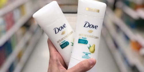 Dove Advanced Care Antiperspirant as Low as $1.40 Each After Cash Back at Target