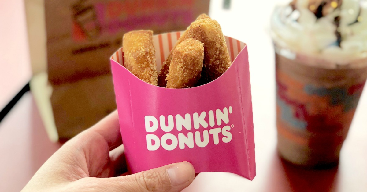 Dunkin' Donuts Donut Fries Are Here…