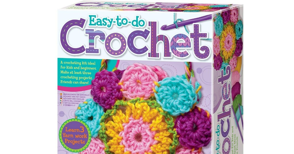 Amazon 4m Easy To Do Crochet Kit Only 789 Hip2save