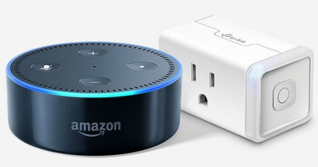 Amazon Echo Dot and Kasa Smart Plug Mini Just $39 99 Shipped