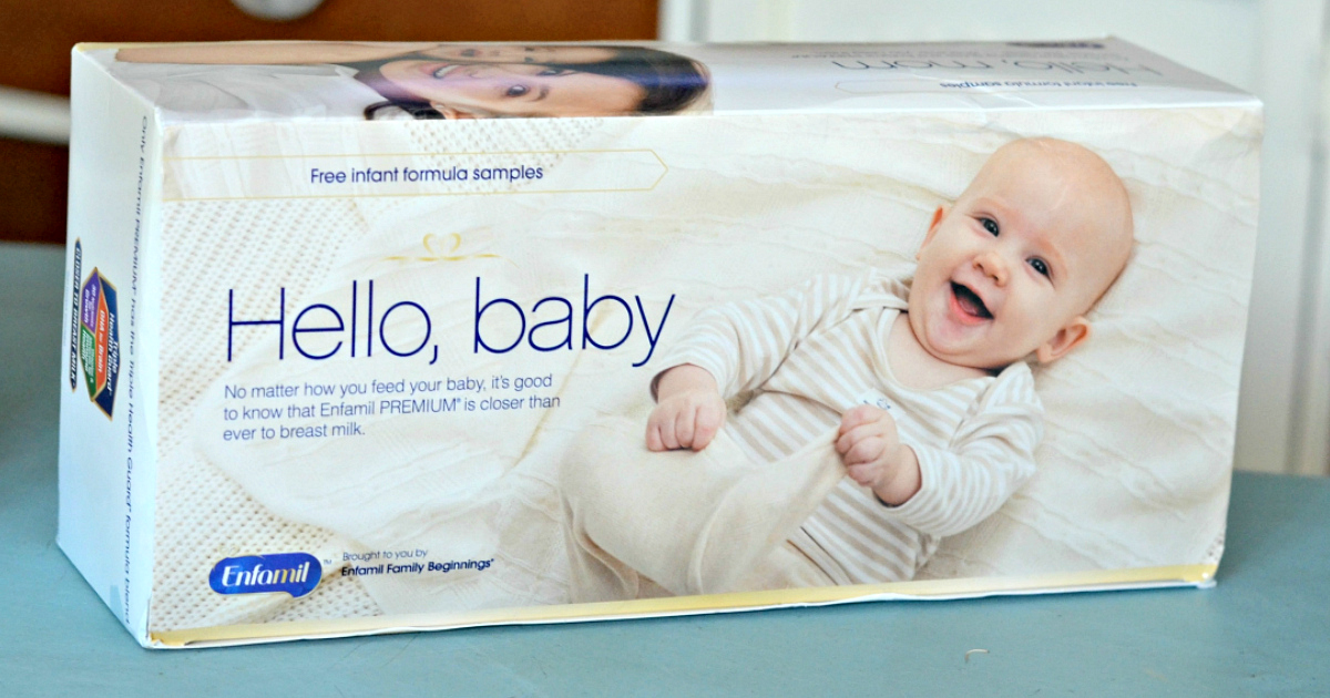 get free enfamil gifts like this Enfamil Baby Box