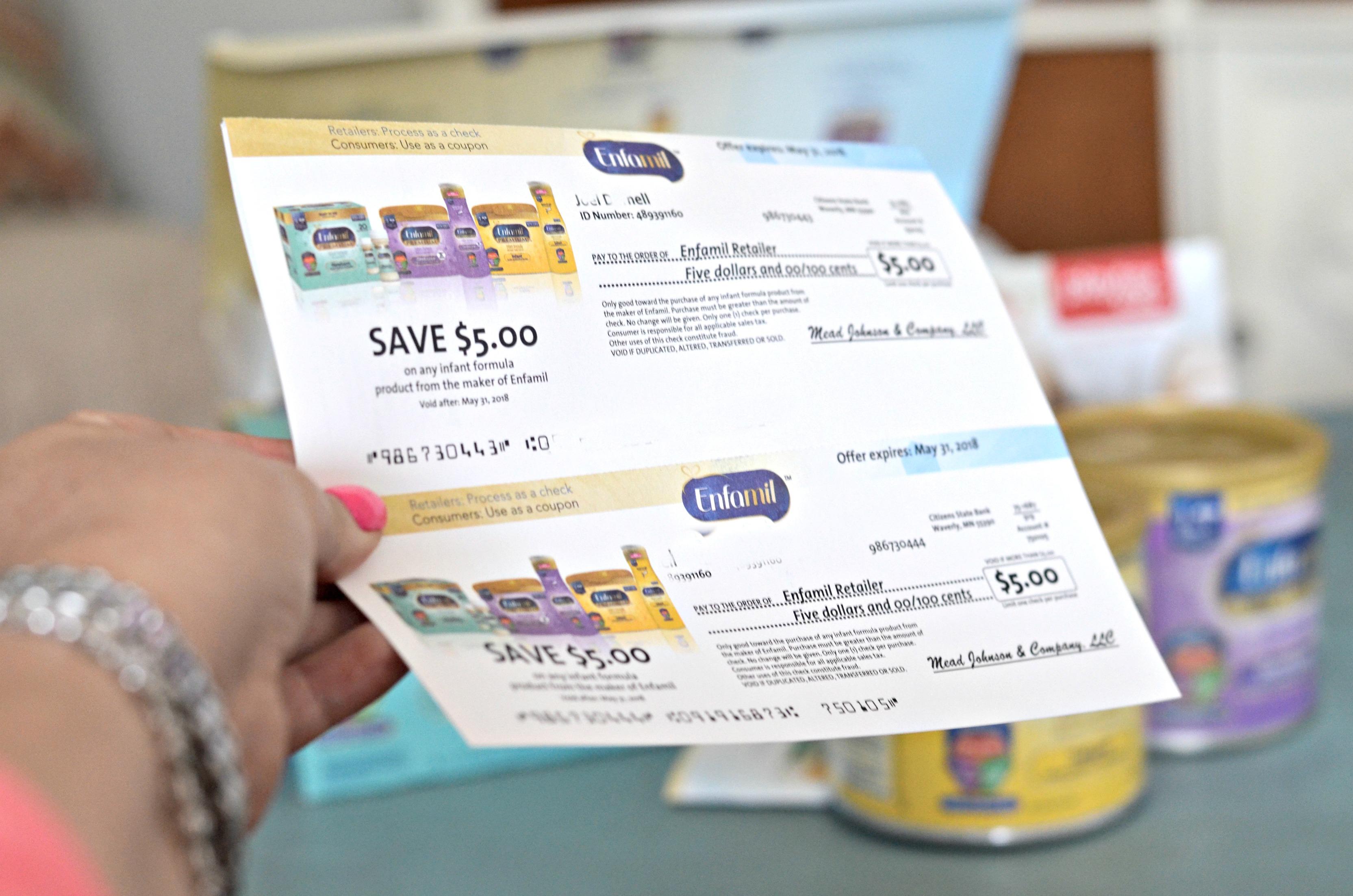 free enfamil baby box - get free enfamil gifts like these Enfamil Checks