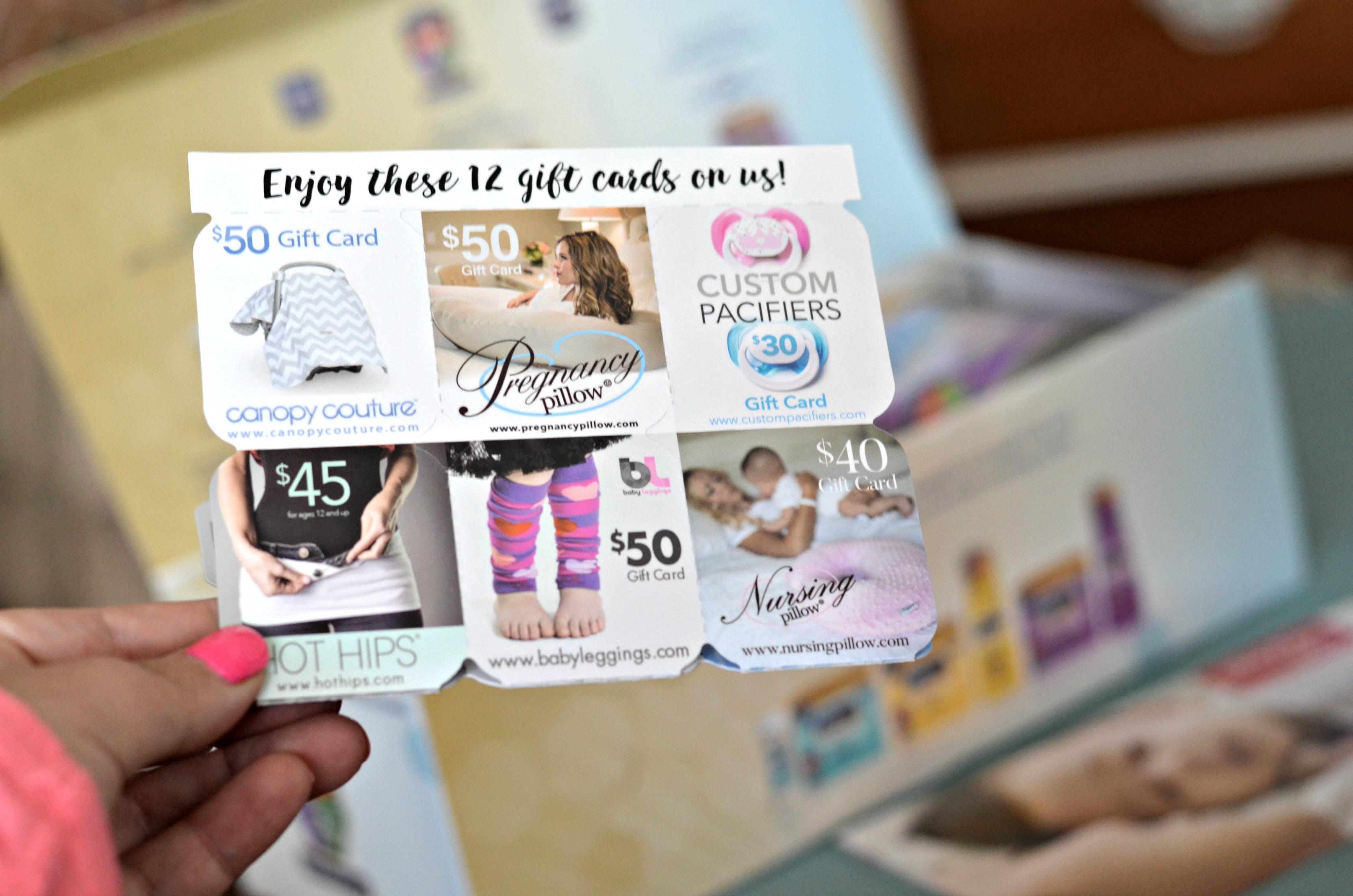 free enfamil baby box - get free enfamil gifts like these Enfamil gift cards