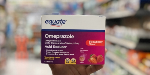 Got Heartburn? Walmart Equate Omeprazole Works as Well as National Brands For Less