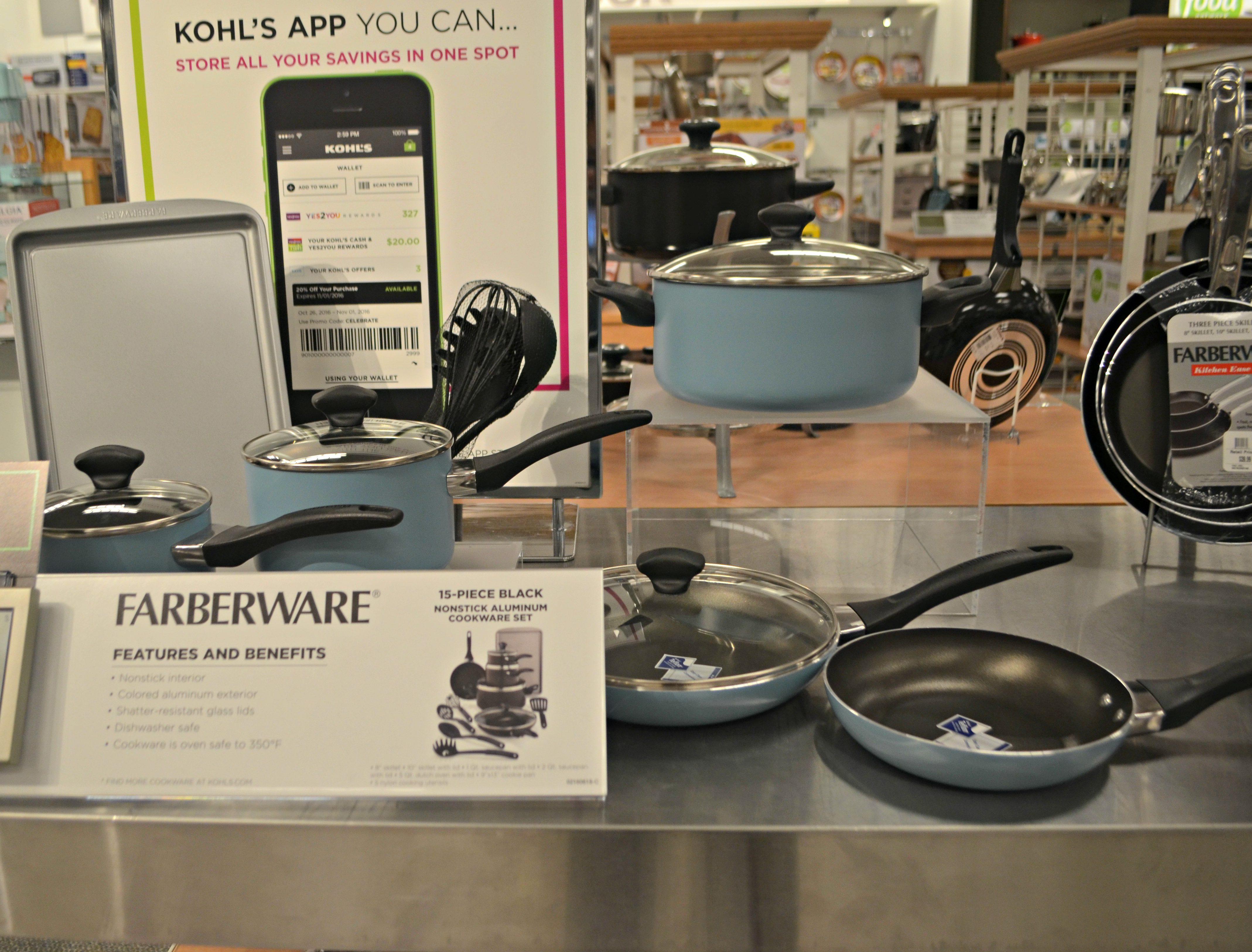 Kohl's: Farberware 15-Piece Pan Set as Low as $19 99 Shipped