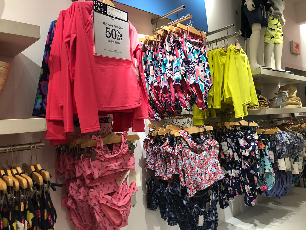 save money with these summer clearance sales – swimsuits marked at 50% off