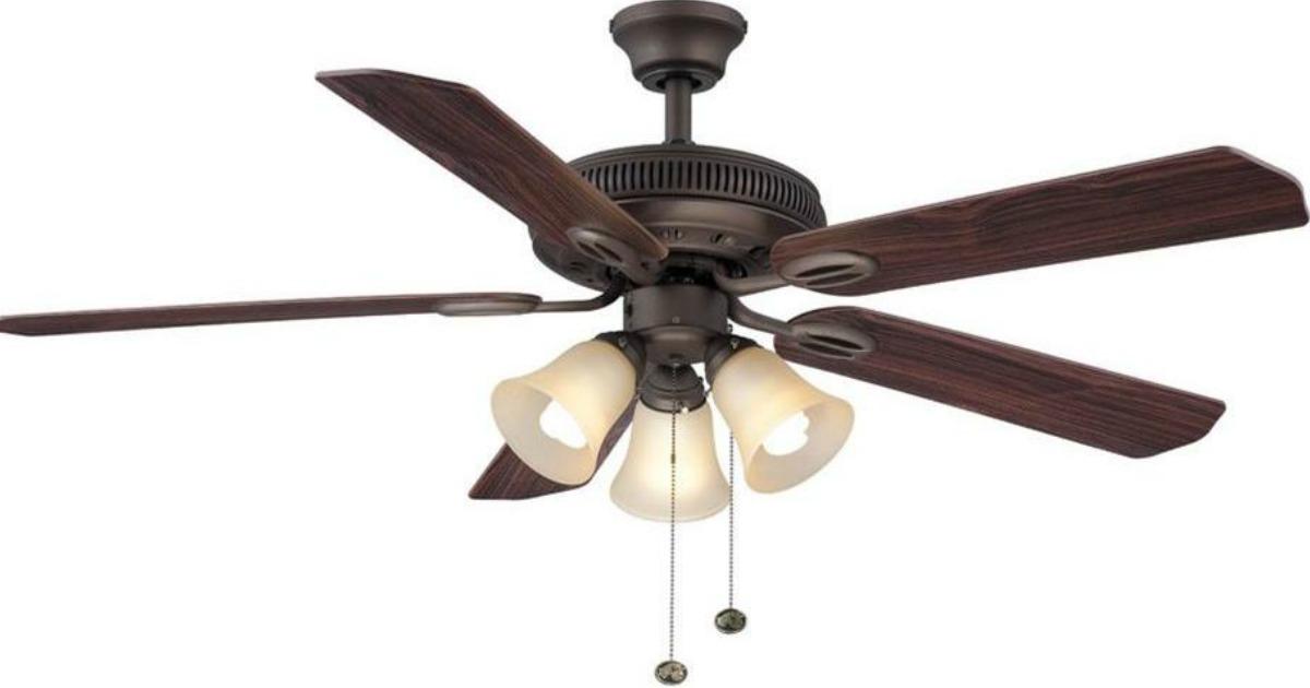Home Depot Hampton Bay Oil Rubbed Bronze Ceiling Fan W