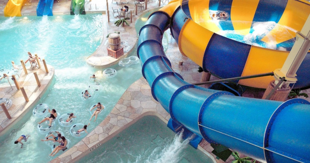 Great Wolf Lodge slide