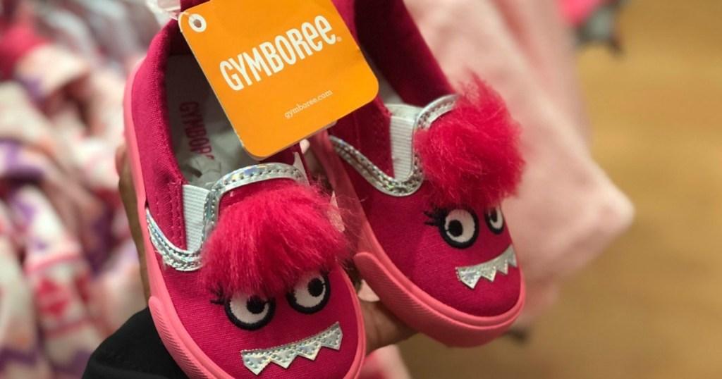 gymboree pink shoes