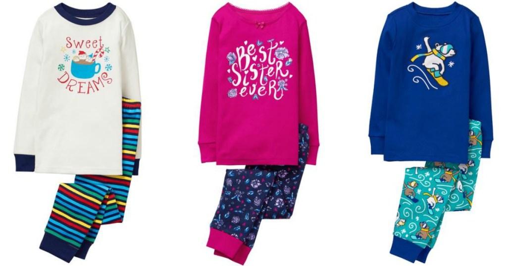 167b2805a05c29 Gymboree Two-Piece Pajama Sets as Low as $5.58 Shipped - Hip2Save
