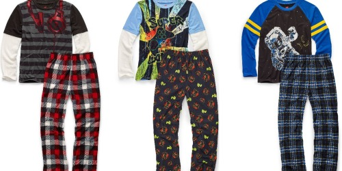 Hanes Boys 2-Piece Pajama Sets Only $7.64 Shipped (Regularly $19) + More
