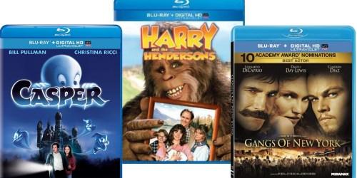 Blu-ray + Digital HD Movies Only $4 (Casper, Gangs Of New York & More) – Ships w/ $25 Amazon Order