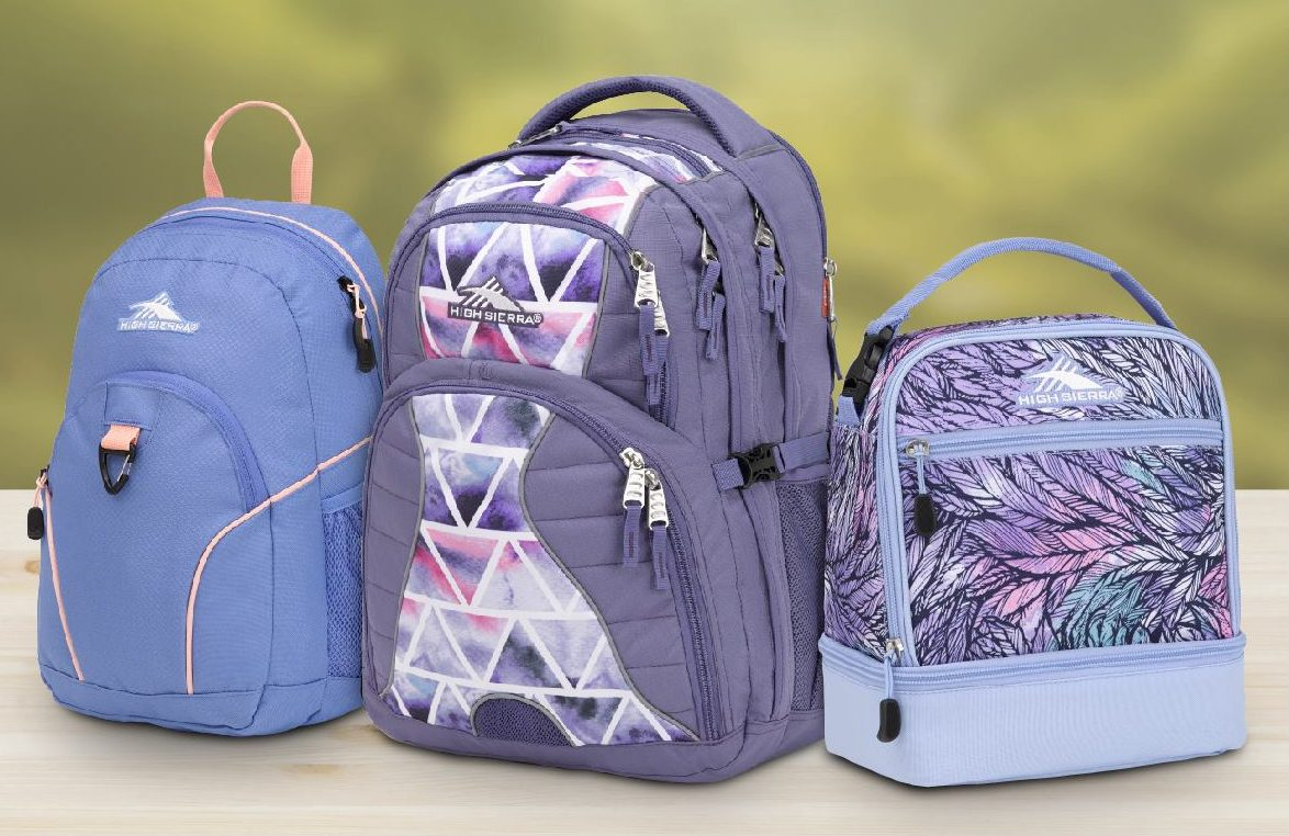 back to school deals supplies backpacks lunch bags – high sierra backpacks and lunchbag