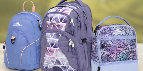 Over 50% Off High Sierra Backpacks + FREE Shipping