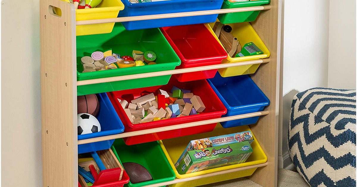 Hop On Over To Or And Score This Honey Can Do Kids Toy Organizer Storage Bins In Primary Colors For Just 38 43 Shipped Regularly