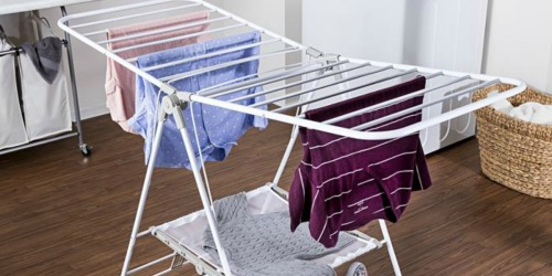 Portable Drying Rack Only $29 Shipped on HomeDepot.com (Regularly $49)