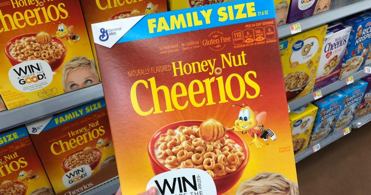 Honey Nut Cheerios Cereal - Breakfast Foods