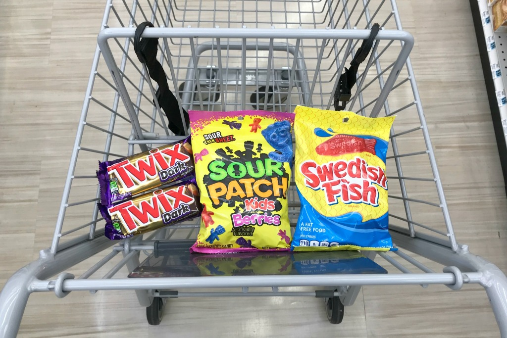 Rite Aid Twix Swedish Fish Candy