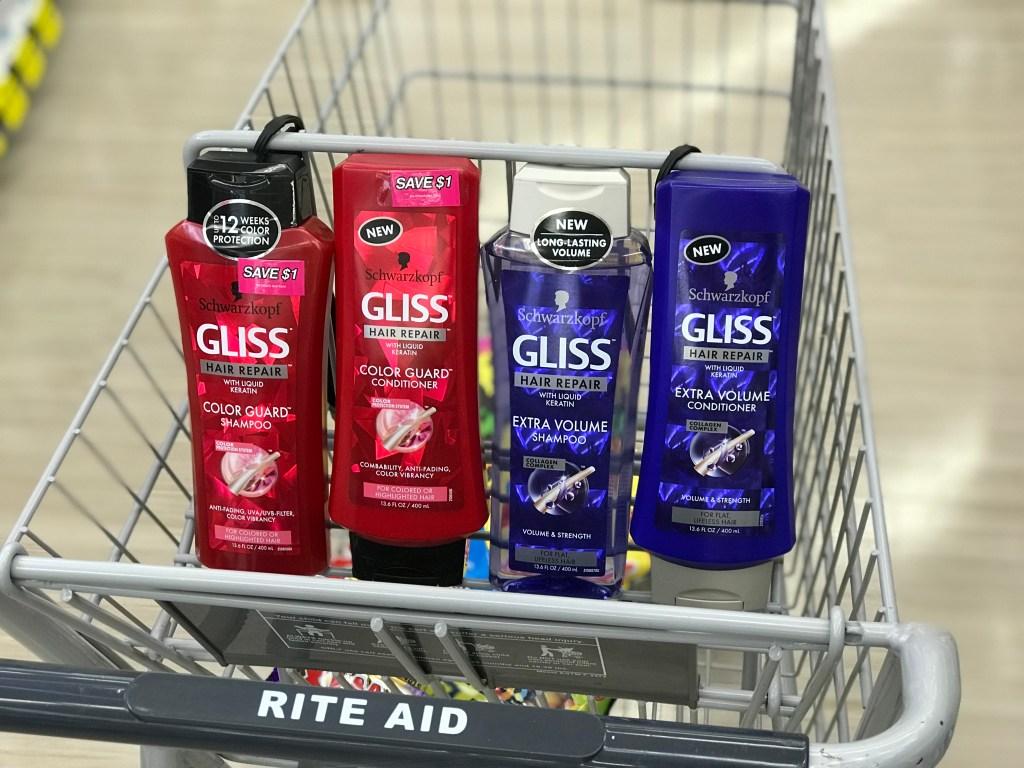 Rite Aid Scwarzkopf Gliss Shampoo Conditioner