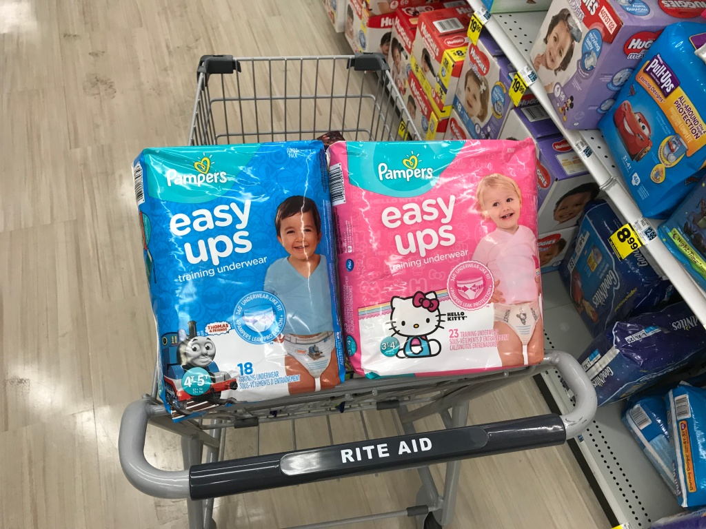 Rite Aid Pampers Easy Ups