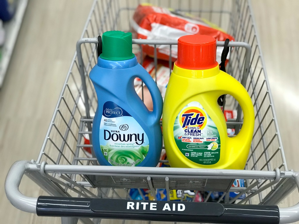 Rite Aid Tide Simply Downy Fabric Softener