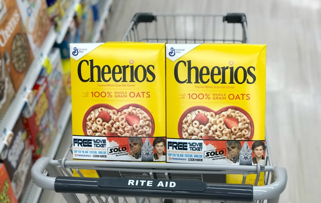 Rite Aid General Mills Cheerios Cereal