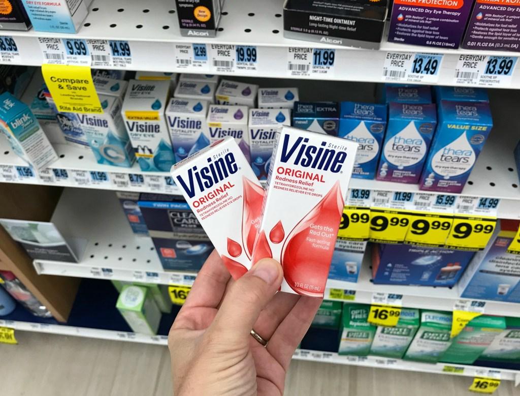 Rite Aid Visine Eye Drops