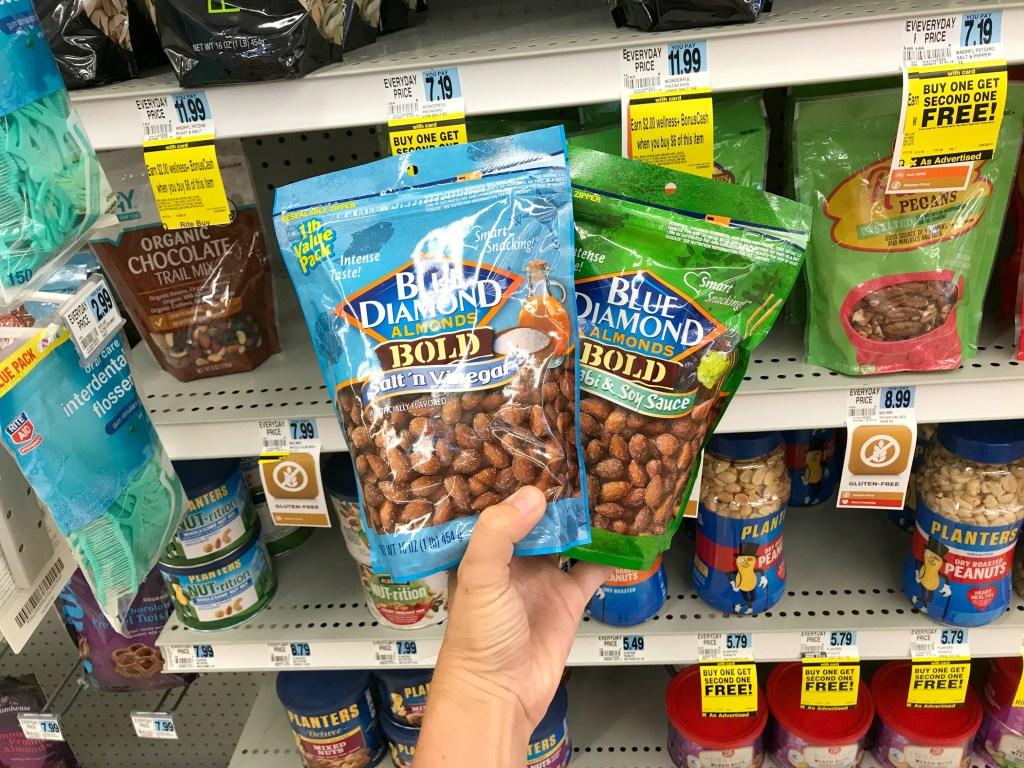 Rite Aid Blue Diamond Almonds