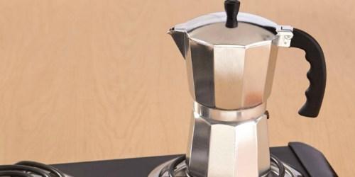Walmart.com: Imusa Espresso Coffee Maker ONLY $5 (Regularly $12)