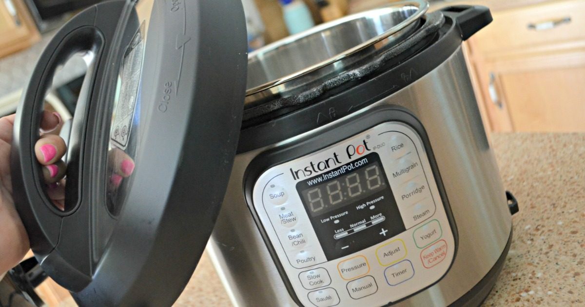 instant pot tips, hacks, and recipes – lifting the lid off of an instant pot