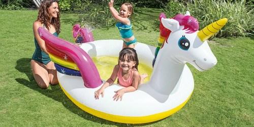 Intex Mystic Unicorn Spray Pool Only $15