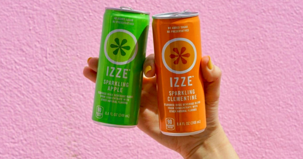 IZZE sparkling beverages