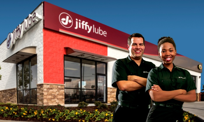 Stores, restaurants, hotels, and other places that offer senior discounts – Jiffy Lube man and woman team