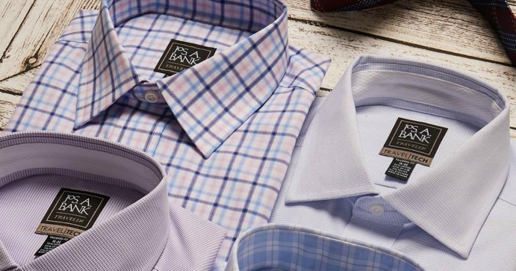 Jos. A. Bank dress shirts
