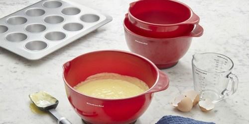 Amazon: KitchenAid Mixing Bowls 3-Pack Only $11.29 (Regularly $25)