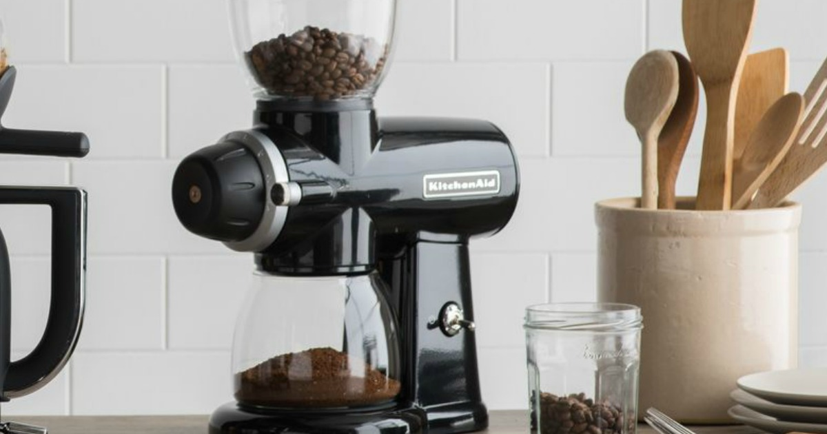 Hop On Over To Amazon Where You Can Snag This Kitchenaid Burr Coffee Grinder In Onyx Black For Just 149 99 Shipped Regularly 299 99 Lowest Price